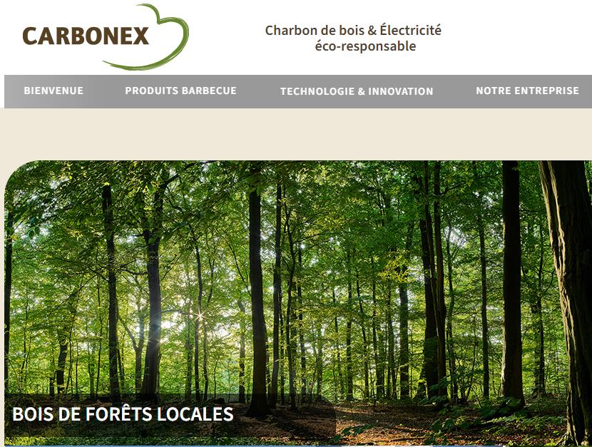 Carbonex - Charbon de bois éco responsable avec Flamagic