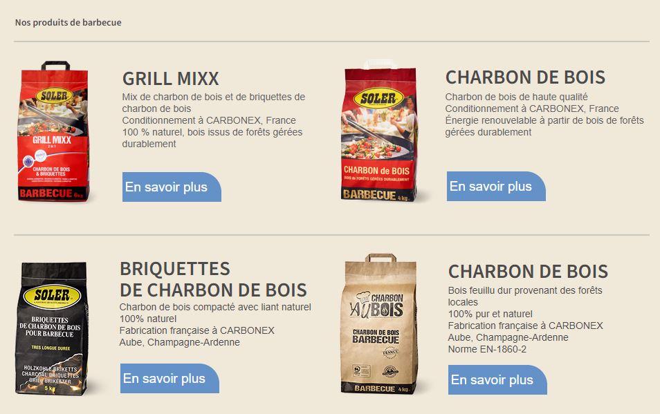 Charbon de bois, briquettes pour barbecue 100% naturels