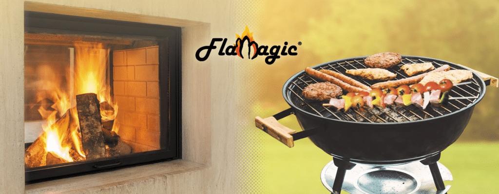 Flamagic l'allume feu pour allumer un feu facilement. Inodore et écologique.