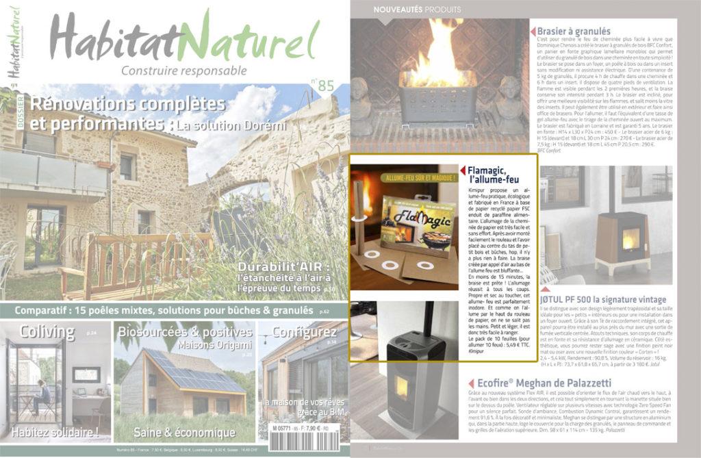 magazine habitat naturel Flamagic